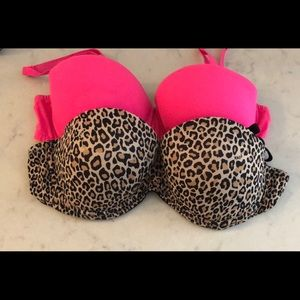 2 Pink by Victoria Secret Bras